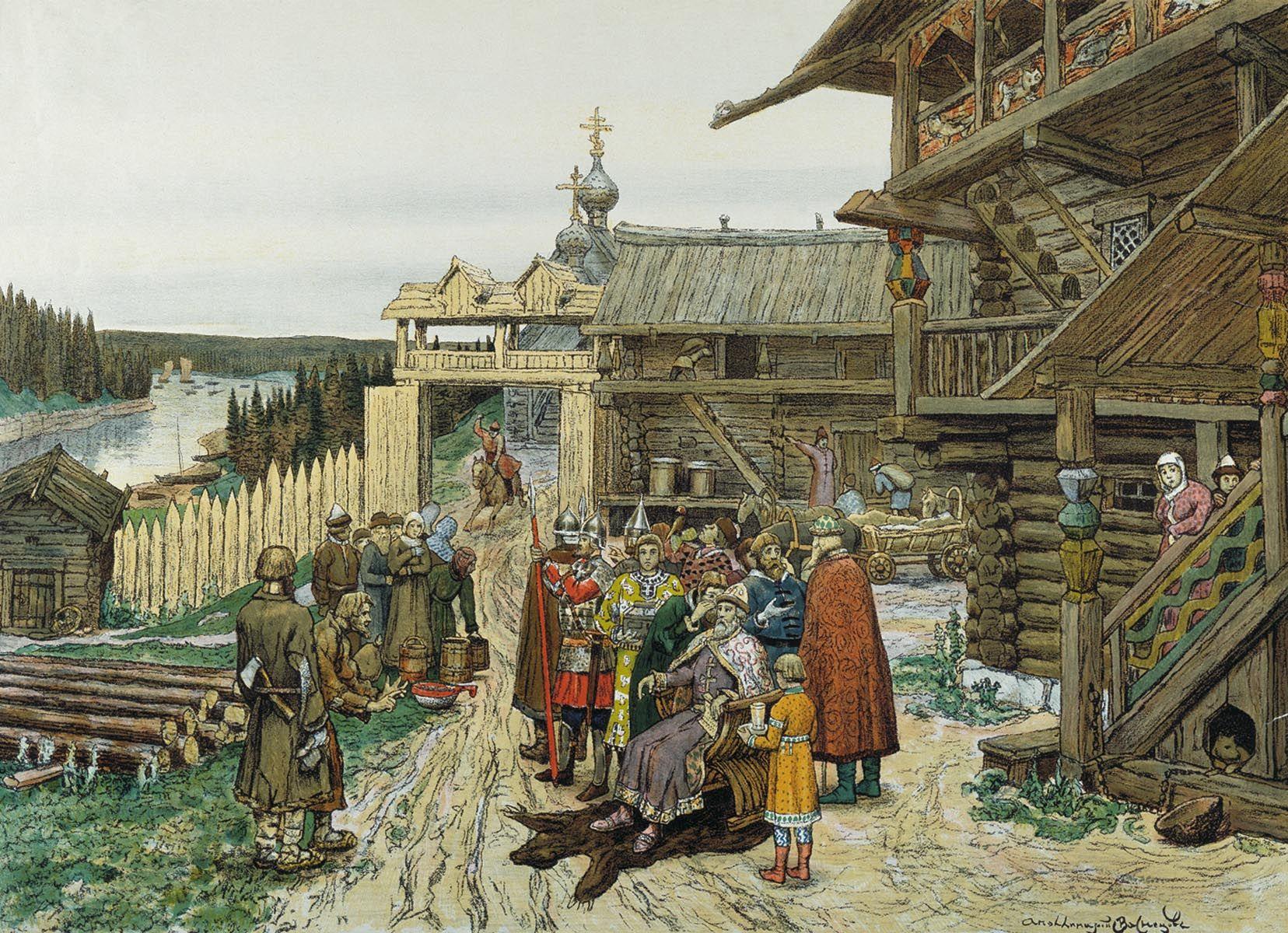 Картинки об истории руси